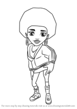 How-to-draw-Frizzy-from-Subway-Surfers-step-0
