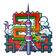 Shanghai City Icon