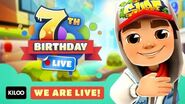 🔴 Subway Surfers Live in Seoul - We premiere our 7th Year Birthday Special