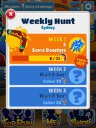 Weekly Hunt