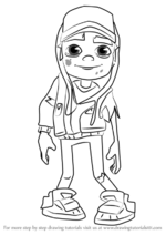 How-to-draw-Zombie-Jake-from-Subway-Surfers-step-0
