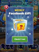 Weekly Facebook Gift