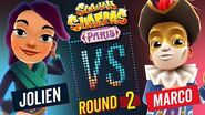 Subway Surfers Versus Jolien VS Marco Paris - Round 2 SYBO TV