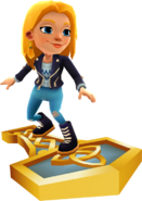 Freya Surfing On Hammer