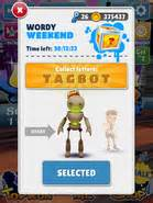 Tagbot in a Weekly Challenge