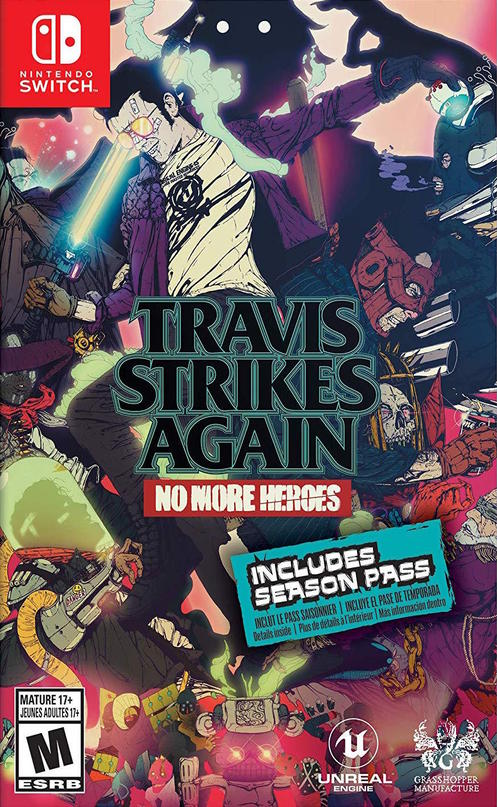 Travis Strikes Again: No More Heroes | Suda51 Wiki | FANDOM