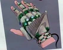 Death Glove Inside