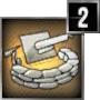 Verstärkte Sandsack-Bunker 2