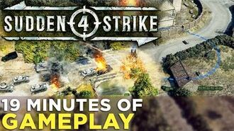 Sudden Strike 4 19 Minutes of GAMEPLAY from the Single-Player Campaign!