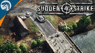 EPIC FULL SCALE INVASION FORCE Sudden Strike 4 German Campaign Gameplay 1