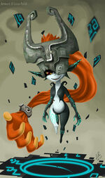 Midna as imp