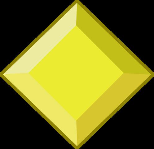 File:Yellow Diamond Gemstone.png