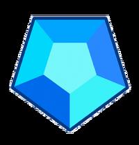 Fruit's Blue Topaz gem