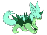 Mint Garnet (Disgustedorite)