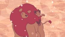 Steven's Lion - Steven and Lion