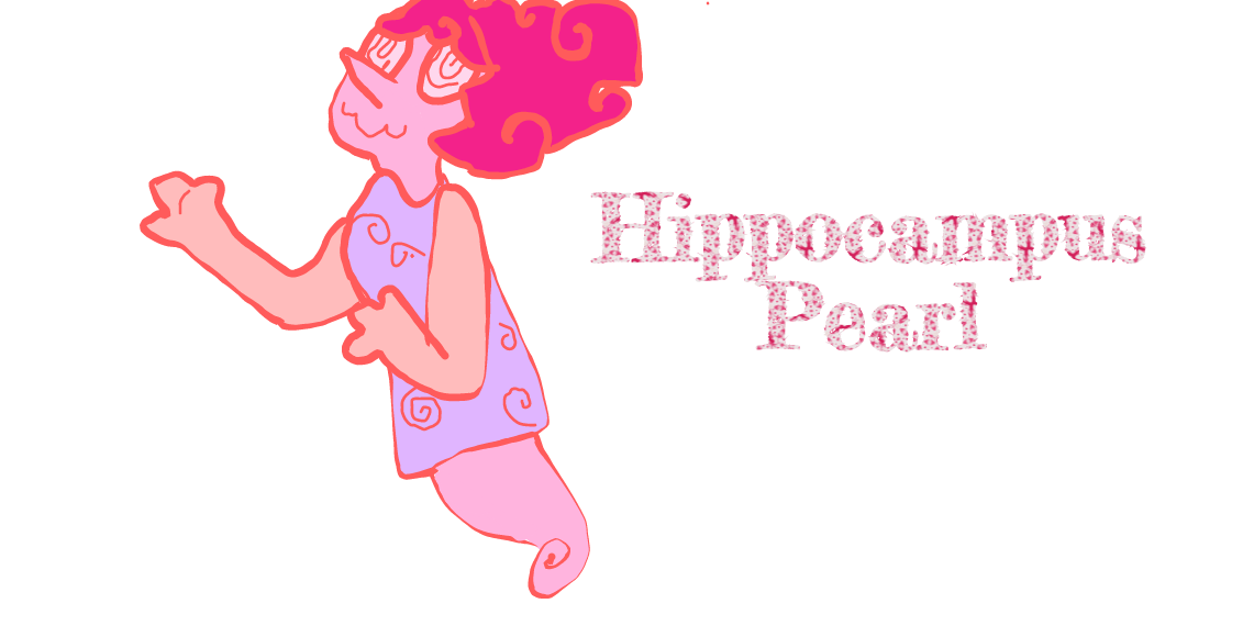 Steven Universe Rose Quartz Symbol: Hippocampus Pearl (Mind Player)