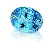 Aqua gemstone 2