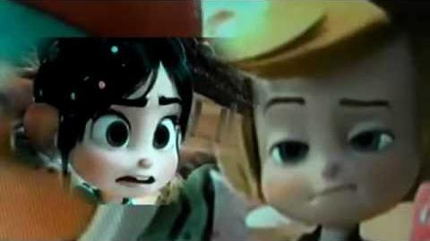 Vanellope and Rancis- that what makes you beautiful