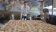 World largest pizza challenge