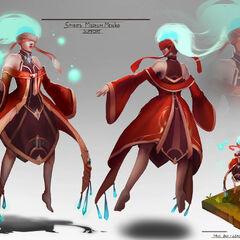 Menko the Spirits' Medium (by Truc Bui)