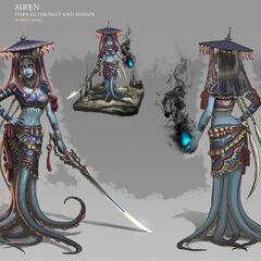 Siren the Dark Illusionist (by Rowena Wang)