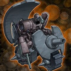 Artillery Droid (Ancient Gear Tank)