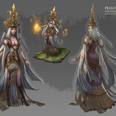 Phoenix the Golden Guardian (by Rowena Wang)
