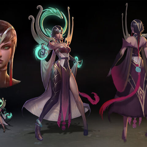 Initial concept art by RiotZeronis.