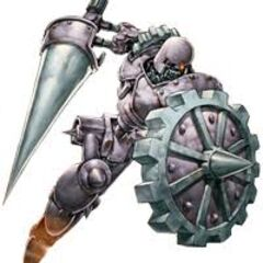 Knight Droid (Ancient Gear Knight)