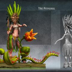 Tiki Princess (by Schuyen David)