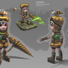 Teddy the Drillgun Master (by Rowena Wang)