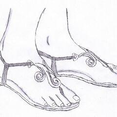 Tiffany Kincaid's shoes