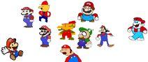 Mario vs parody marios