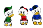 Huey, Louie and Dewey