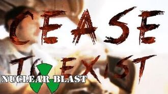 SUICIDE SILENCE - Cease To Exist (OFFICIAL LYRIC VIDEO)