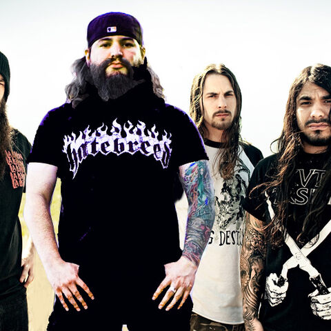 Suicide Silence with Eddie Hermida, the new lead vocalist