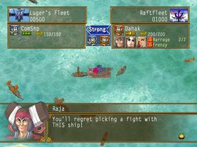 Suikoden V naval battles