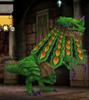 Peacock Lizard
