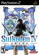 Suikoden IV - PS2 Cover (U)