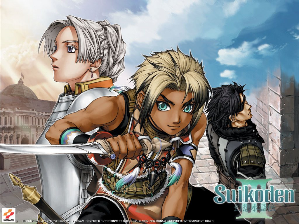 JAPAN Genso Suikoden Tactics:Rhapsodia Official Guide Complete Edition