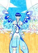 Shō Suine - Wings open