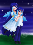 Suishou Suine and Shō Suine (Prize by Cobalt-Starlight)