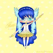Chibi Suishou (Art Trade with mistifiedmistress)