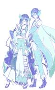 Suishou Suine & Shō Suine (Request to Kai-chan47)