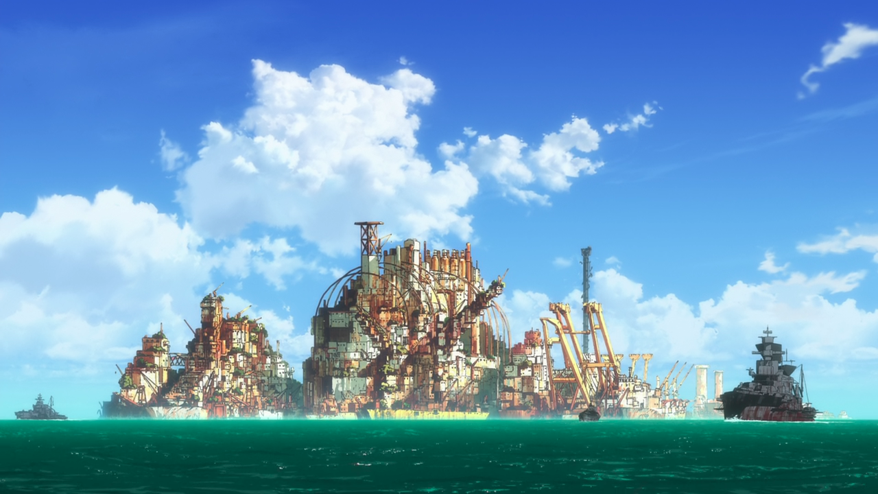 Image result for gargantia fleet