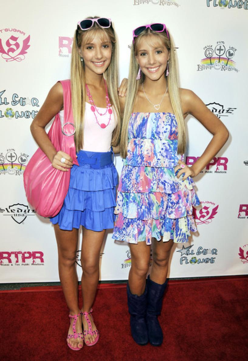 Camilla and Rebecca Rosso