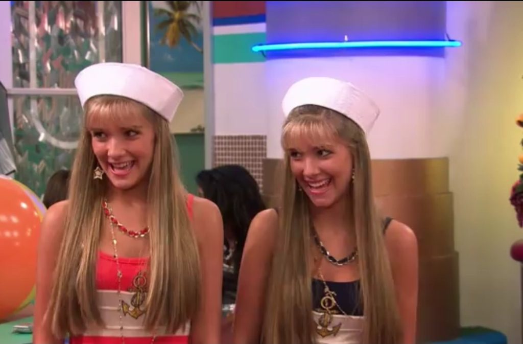 Milly And Becky Rosso Suite Life On Deck