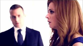 "Donna & Harvey Suits ""Darvey"" - Addicts of Affliction - Life as a Lie - Kiss scene"