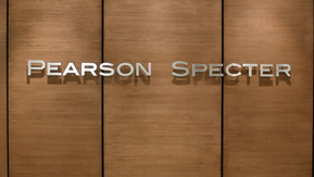 Pearson Specter - Wall Sign (4x05)