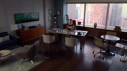 Katrina Bennett's Office (9x3)
